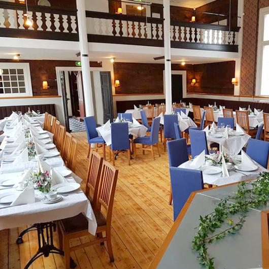KJs i Ronneby erbjuder härlig lunch och miljö
